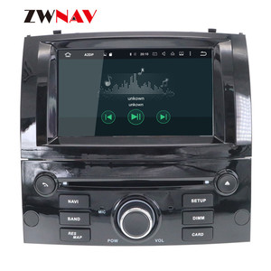 Image 5 - Android 10 DSP IPS HD Screen For Peugeot 407 2004 2005 2006 2007 2008 2009 2010 Car GPS Navi Radio Screen android Display Black