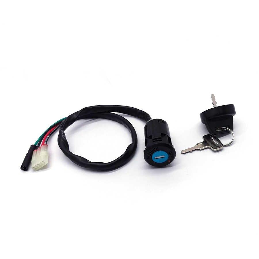 Мотоциклетный переключатель блокировки ключ зажигания для Honda TRX400EX TRX400EX Sportrax 400 1999-2004
