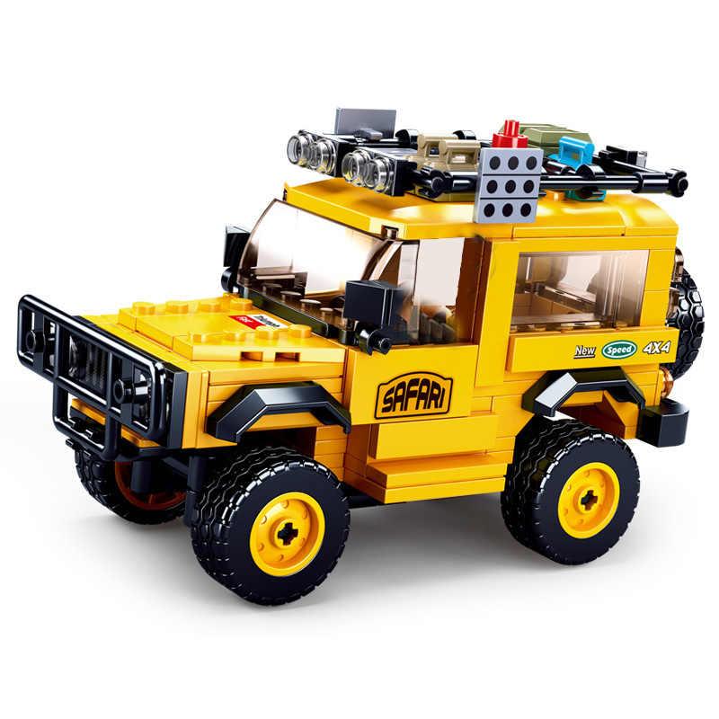 City Car velocità campione Del Garage di Blocchi di Costruzione di Modello Technic Racer Figure Moc Auto Sportive SuperSets Ragazzi giocattoli Educativi