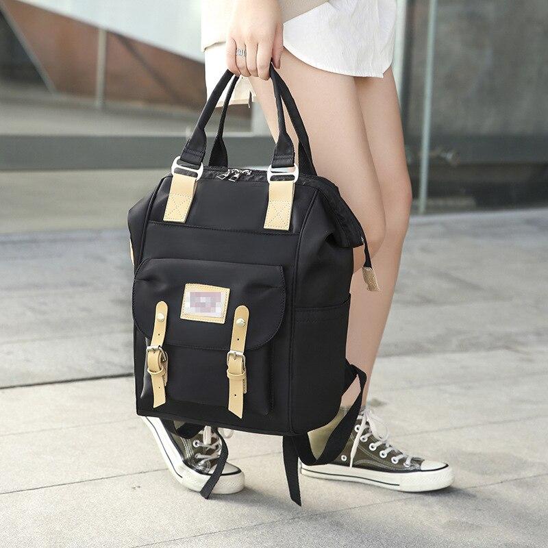 Nylon Cloth Multi-functional MOTHER'S Bag Large Capacity Belt Decoration Mommy Bag Mommy Chu Xing Bao