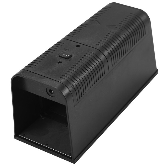 Electronic Mouse Killer Rat Zapper Exterminator Trap Humane Rodent Mousetrap Device 235X102X113MM DC6V