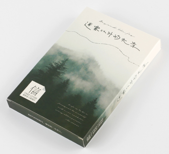 Fog Landscape Paper Postcard(1pack=30pieces)