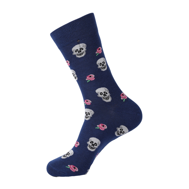 3D SKULL THEMED SOCKS (2 VARIAN)