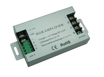 10pcs/lot DC12V-24V 30A 360W  Aluminum RGB led Amplifier controller For RGB SMD 5050 3528 LED Strip