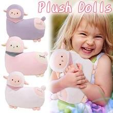 Милые плюшевые домашние тапочки с изображением куклы альпаки