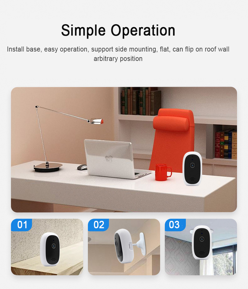 Newest HD 720P Cloud Wireless WIFI IP Camera Home Indoor Security Monitor Smart Network Video CCTV