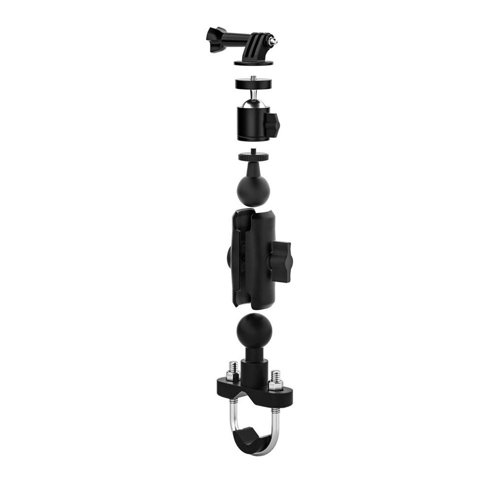 Motorcycle Sports Camera Driving Recorder Bracket Bicycle Electric Vehicle Universal Multiple Equipment Mobile Phone Bracket High Quality And Inexpensive