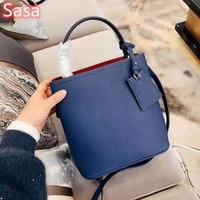 Sasa luxury brand bag for women totes palm print leather bag STRAP SHOULDER