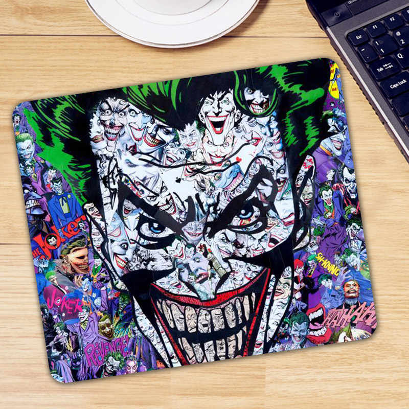 Joker Mouse Pad Pad untuk Mouse Komputer Notebook Mousepad Keren Game Padmouse Gamer Keyboard Mouse Mat