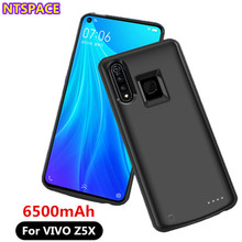 6500mAh Portable Power Bank Case For VIVO Z5X Battery Power Charger Cover For vi