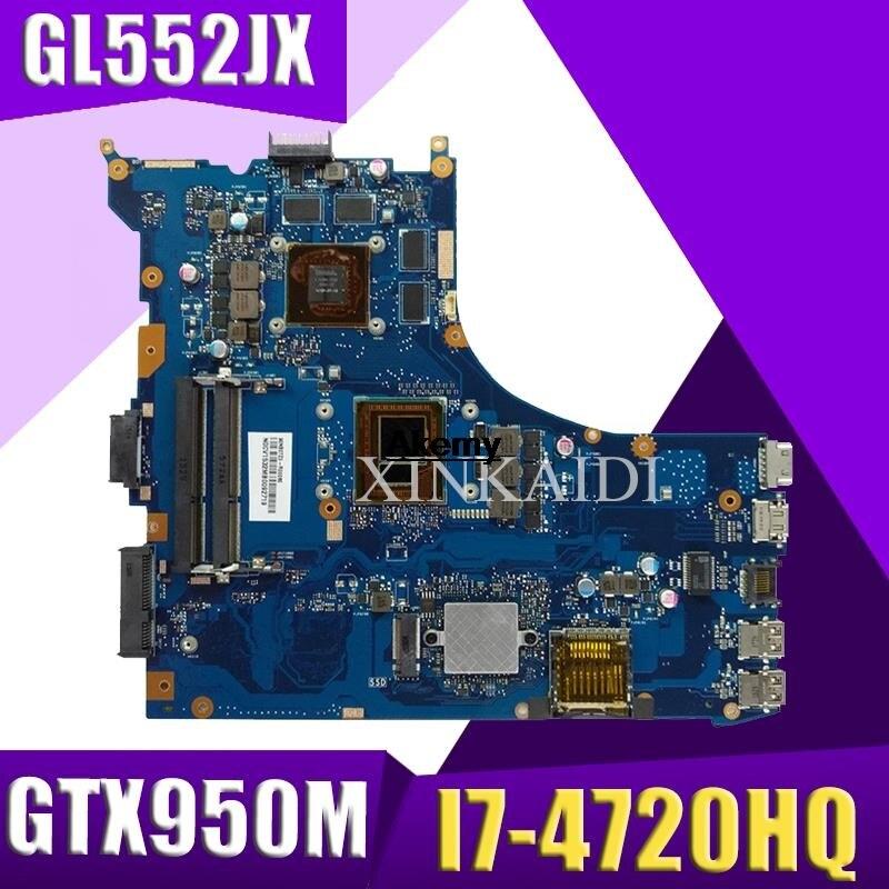 GL552JX материнская плата REV2.0 GTX950M/4G I7-4720CPU для ASUS FX-plus ZX50J ZX50JX GL552J GL552JX Материнская плата ноутбука 100% протестирована