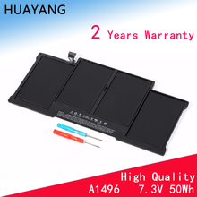 HUAYANG HIGH quality A1496 Battery for apple Macbook Air 13