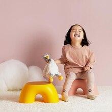 Original Home Chair Children Stool Footboard Bathroom Furniture Children's Stool Toy Sofa Stool Children Chair Rainbow Chair