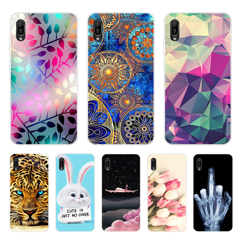 for <font><b>Huawei</b></font> <font><b>Y6</b></font> <font><b>2019</b></font> <font><b>Case</b></font> <font><b>Huawei</b></font> <font><b>Y6</b></font> <font><b>2019</b></font> Silicone <font><b>Cover</b></font> Soft Phone <font><b>Case</b></font> For <font><b>Huawei</b></font> <font><b>Y6</b></font> <font><b>2019</b></font> MRD-LX1 MRD-LX1F <font><b>Y6</b></font> Prime Pro <font><b>2019</b></font> <font><b>Case</b></font> image