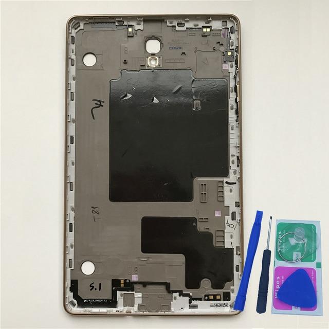 """Nhà Ở Phía Sau Lưng Bao Da Dành Cho Samsung Tab S T700 T705 Galaxy 8.4 """"Ban Đầu Điện Thoại Máy Tính Bảng Mới Giữa Khung Bảng Điều Khiển thay Thế + Dụng Cụ"""