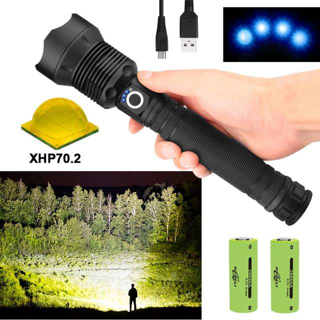Glare The Most Powerful LED Flashlight Hunting Lamp Hand Light
