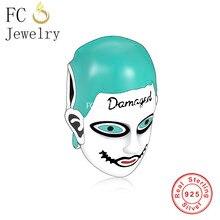 FC bijoux ajustement Original Bracelet à breloques réel 925 en argent Sterling toujours vous faire Clown heureux perles pour faire des femmes Berloque 2021