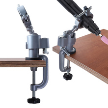 360 Rotating Vice Clamp Aluminum Alloy Table Vise Adjustable Table Clamp Vice Tools for Electril Drill Gimbal Grinder