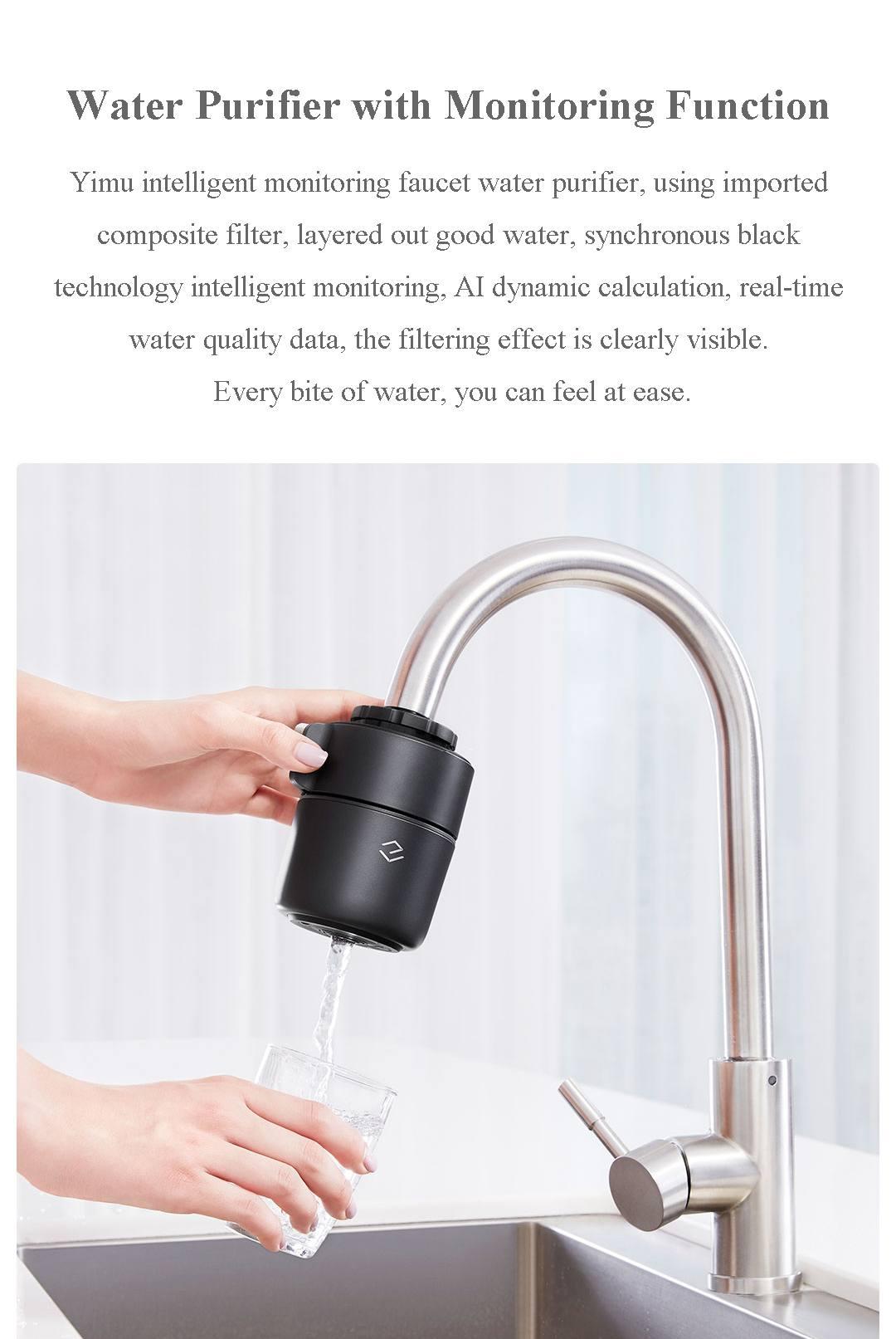 Ecomo Yimu Smart APP Monitoring Water