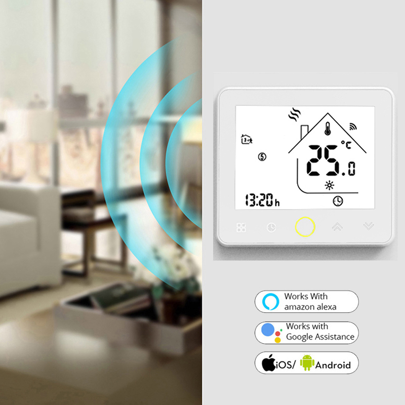 He5f980b68cfa457080b617441d4d3ce8n - Smart Wifi Thermostat for Lamps Fan Water Dispenser Water Heater Electric Pot TV Humidifier Light Boiler Wifi Switch Smart Home