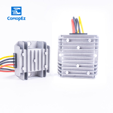 Waterproof DC Converter 6V-10V to 12V 1A 2A 3A 5A 8A 10A Step Up Boost Regulator Voltage Power Converters for Motor Cars
