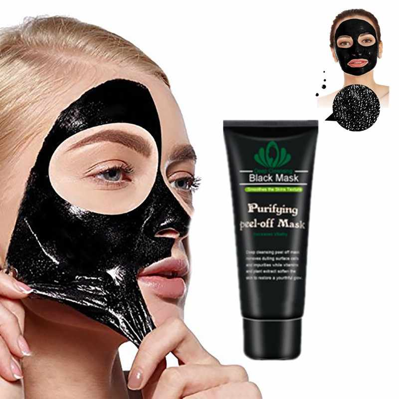 Eliminar control de aceite de cabeza negra lavar la cara máscaras negras pelar la mano pigmento negro pecas quitar acné limpieza profunda máscaras negras