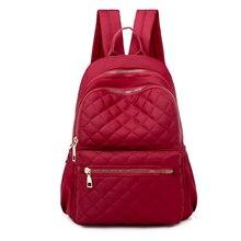 Litthing Women Large Capacity Simple Stylish Waterproof Student Bag Bac
