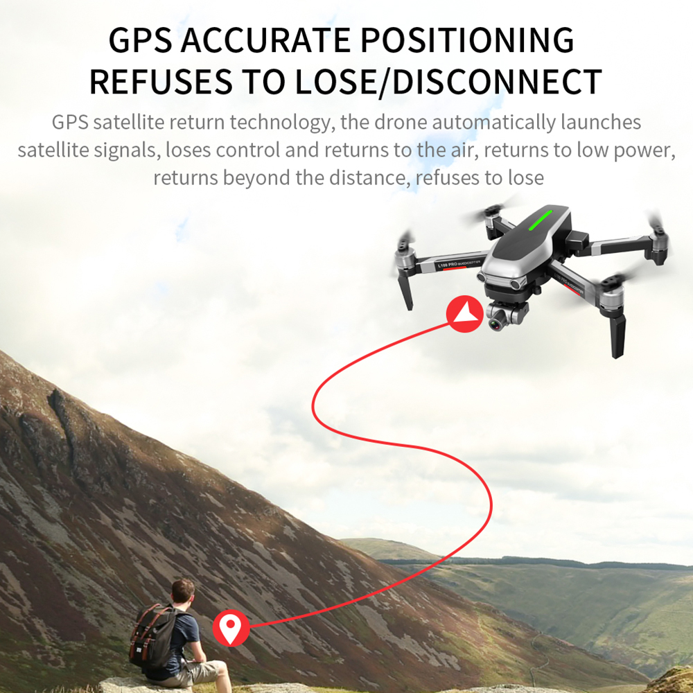 Image 5 - L109 Pro GPS Profissional Drone with HD 4K Gimbal Camera 5G WiFi FPV 1.2km control Brushless Motor RC Quadcopter Helicopter ToyRC Helicopters   -