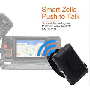 Image 4 - 2019 bezprzewodowy Bluetooth PTT kontroler bez użycia rąk Walkie Talkie przycisk dla Android IOS telefon komórkowy niskie zużycie energii dla Zello pracy