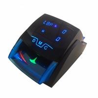Mini Handy banknot wykrywacz UV/MG fałszywe banknoty Euro detektor banknotów dla USD/EUR Cash Dinero detektor z baterią w Liczarki i testery pieniędzy od Komputer i biuro na