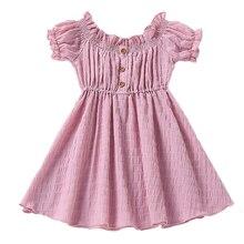 Летняя футболка для маленьких девочек шифоновые платья 2021 новая одежда для маленьких девочек, футболка с короткими рукавами и юбка, детское...