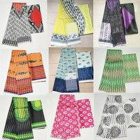 Organz silk wax fabric african fabric for dress african silk ankara Fabric high quality 2019 latest satin wax for Garment 4+2y!