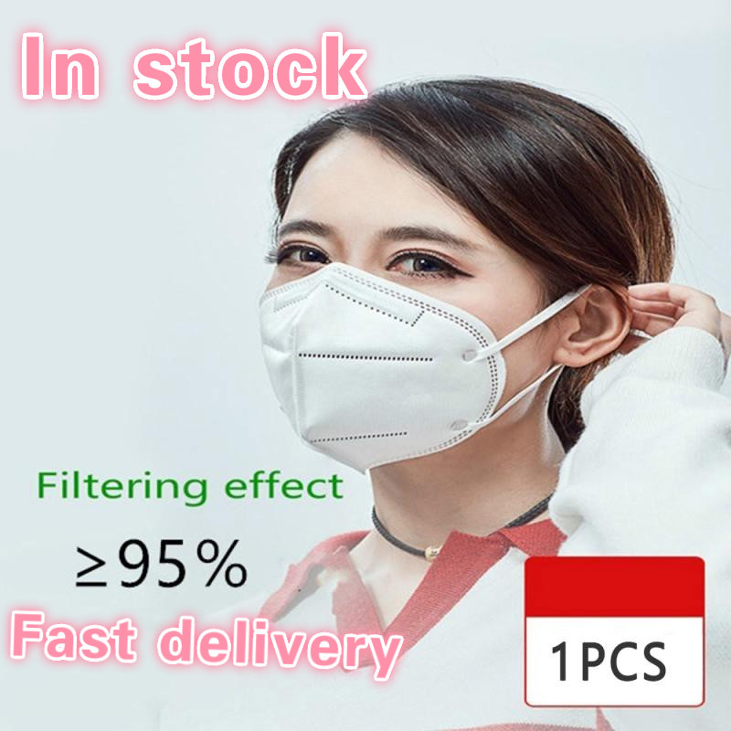 PM2.5 Multi-layers N95 Mouth Mask  KN95 Mask Anti-dust Activated Carbon Anti Dust Face Mask Face Masks