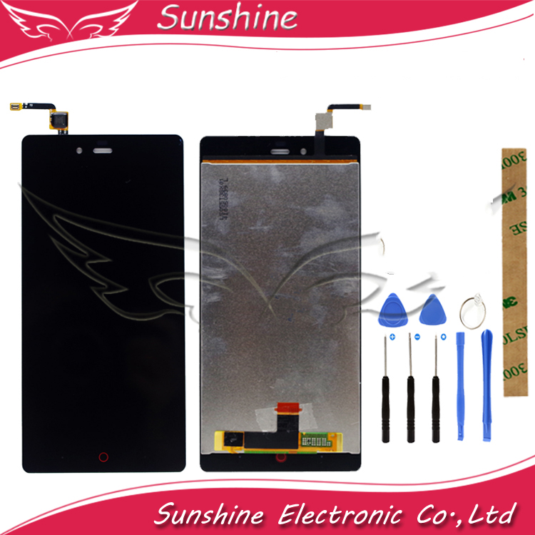 5.5 Inch LCD Display Touch Screen  For ZTE Nubia Z9 Max NX510J NX512J NX518J LCD Display Assembly With Tools + Protective Glass