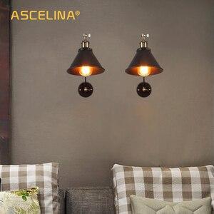 Image 4 - Lâmpada de parede industrial ajustável, para quarto, iluminação retrô