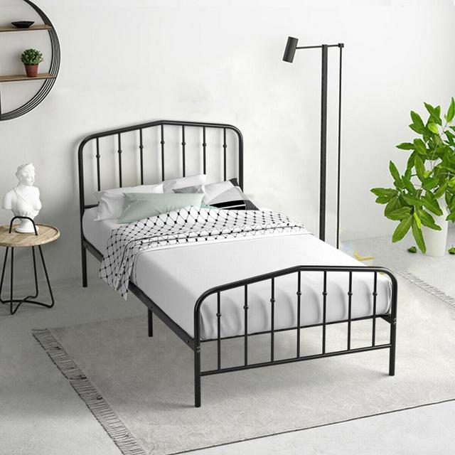Twin Size Metal Bed Frame  4