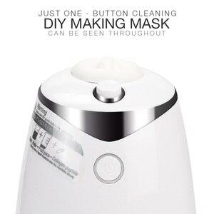 Image 2 - Машинка для ухода за лицом, автоматическое устройство для самостоятельного приготовления маски с натуральным овощным коллагеном, для домашнего использования, для красоты, спа салона, Eng Voice