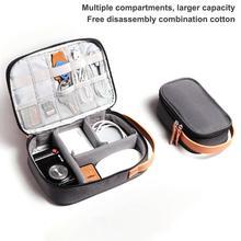Многофункциональная цифровая сумка для хранения, цифровая Защитная крышка жесткого диска, зарядное устройство, аксессуары для наушников, коробка для наушников, сумка для путешествий