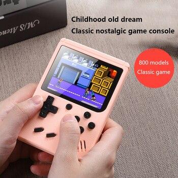 Портативная игровая консоль, Встроенный 800 игр, аккумулятор 1020 мАч, ретро видео, 3,0 дюйма, TFT, игровой плеер для детей, мини ретро игровая консоль