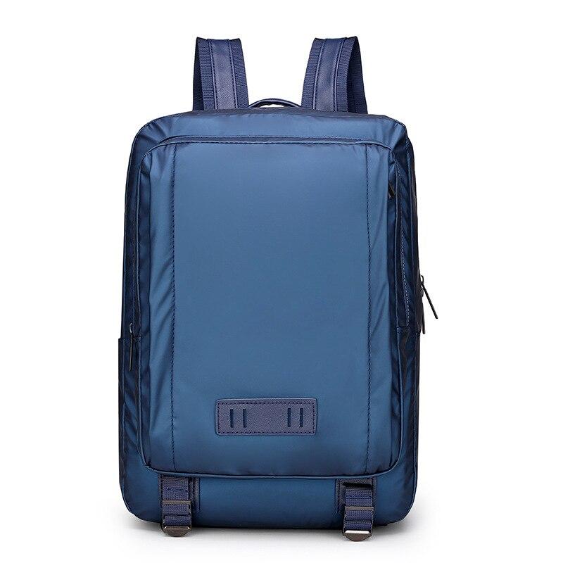 Новая мужская сумка, деловой Повседневный водонепроницаемый нейлоновый рюкзак, сумка для компьютера, рюкзак для студентов с защитой от
