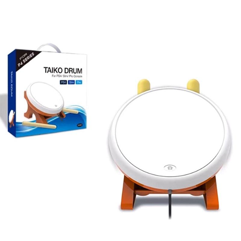 Mini Taiko No Tatsujin Master Drum Controller Traditional Instrument For Sony PS4 Slim Pro-ABLD