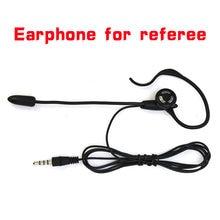 Vnetphone futebol árbitro fone de ouvido monaural earhook fone para v5/v5c interfone