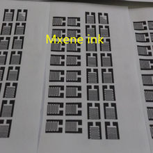 Mxene ink / modified conductive flexible / printed circuit / high conductivity / good adhesion