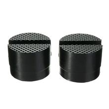 1 PCS Universal Car Parts Rubber Support Pad Car Slotted Frame Rail Floor Jack Adapter Lift Rubber Pad 1 pair car truck rubber slotted pad lifting jack support block guard adapter
