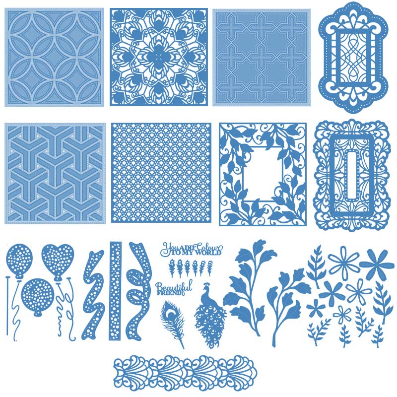 Background Frame Letter Wishes Words Metal <font><b>Cutting</b></font> <font><b>Dies</b></font> Stencils For Making Decor Suit Paper Card DIY <font><b>Dies</b></font> Scrapbooking New image