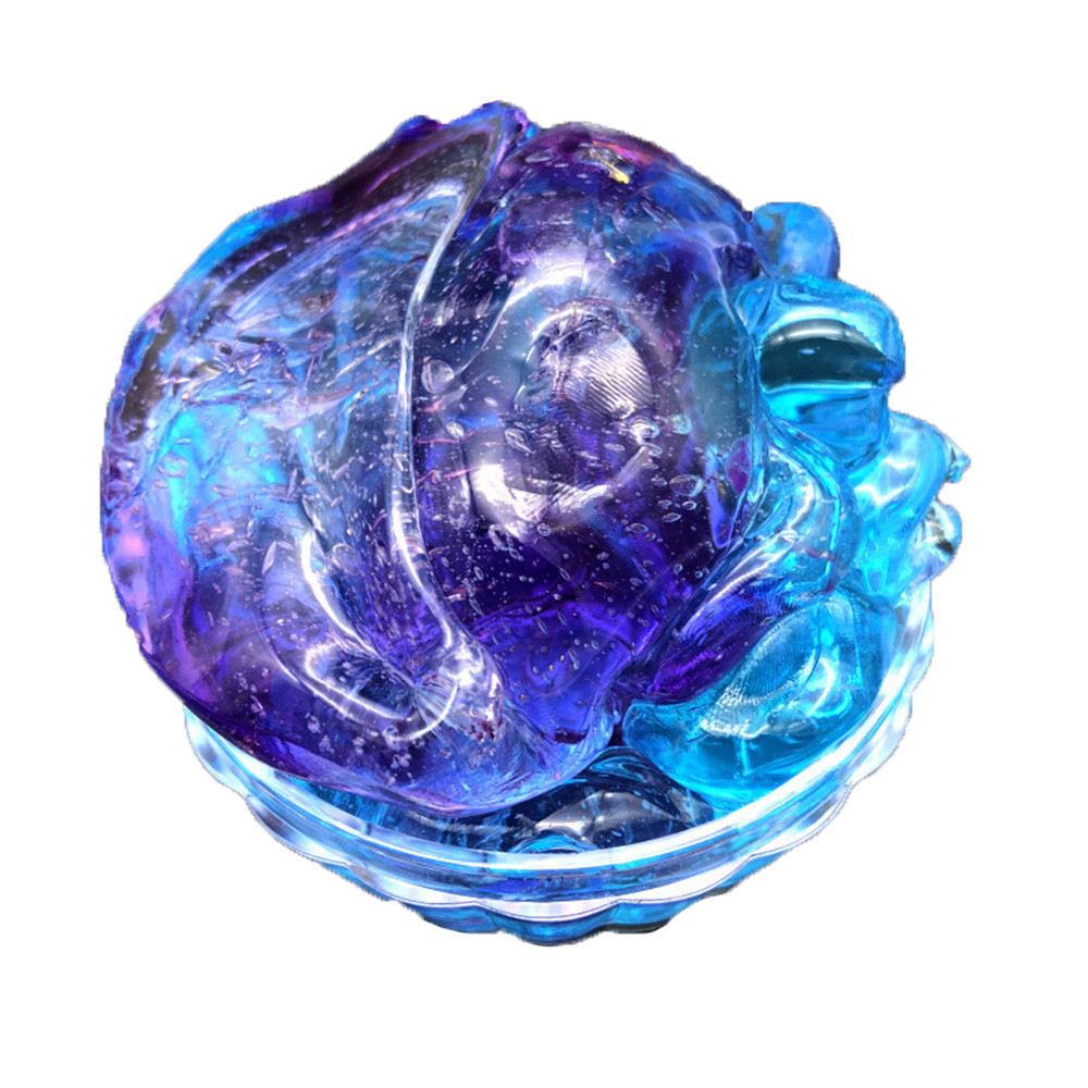 2019 NEW TOYS Kids Colorful Slime Crystal Beautiful Clay Toy Mixing Cloud Slime Squishy Putty Scented Stress Kids