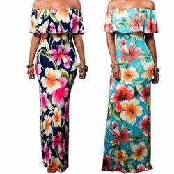SUSOLA, летнее Стильное женское облегающее Макси платье с цветочным принтом, сексуальное платье без бретелек, длинное платье с открытой спиной...