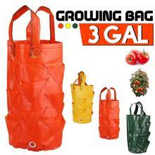 Garden-Seedling-Bag Grow-Bag Planting Strawberry Hanging Moisturizing Vertical Durable
