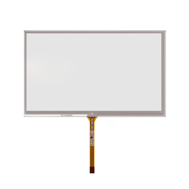 New 7 Inch 4Wire Resistive Touch Panel Digitizer Screen For Mystery MDD-7120S 165*98mm