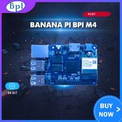 Banana Pi BPI M4 Realtek RTD1395 ARM 64 poco Junta TF Tarjeta de apoyo 8G EMMC WiFi 802.11b/g/n
